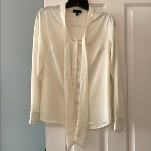 The Limited white size S work blouse